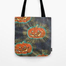 Glowing Jacks Tote Bag