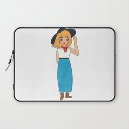 Fred Genderbend Laptop Sleeve