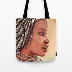 Wind in her hair Tote Bag