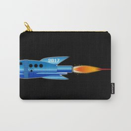 2017 Cartoon Rocket Carry-All Pouch
