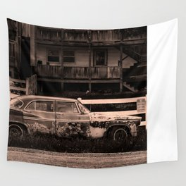 No Parking Wall Tapestry