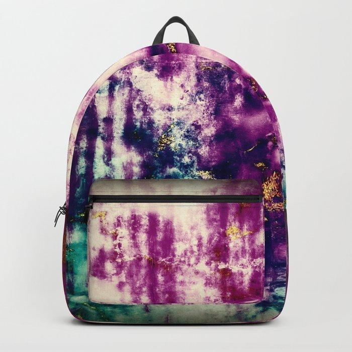 golden crackle Backpack