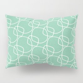 Bubble Pattern Mint #homedecor Pillow Sham