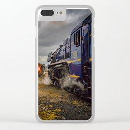 R711 Biding Time Clear iPhone Case