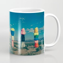 Seven Magic Mountains (Series1 Pt.1) Coffee Mug