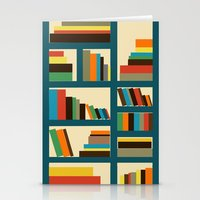 library Stationery Cards featuring library by vitamin