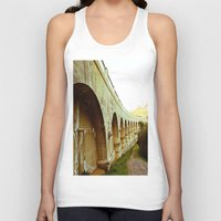 hollywood Tank Tops featuring Hollywood Reservoir by Kim Ramage