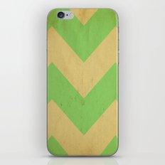 Seafoam Chevron iPhone & iPod Skin