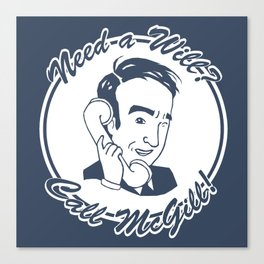 [ Better Call Saul ] James McGill Goodman Bob Odenkirk Canvas Print