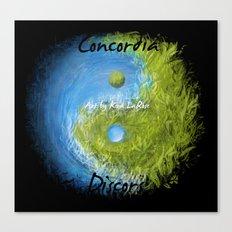 Concordia Discors II Canvas Print