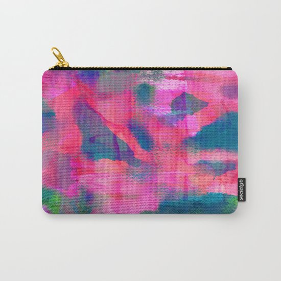 Abstract Fifteen Carry-All Pouch