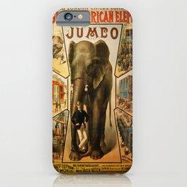 Vintage poster - Jumbo iPhone Case