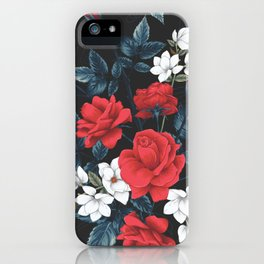 Brighten up with your life with Red Roses iPhone Case