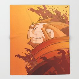 Ganondorf Wind Waker Throw Blanket