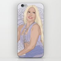 versace iPhone & iPod Skins featuring Versace Queen by AdamAether