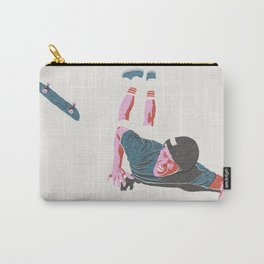 skateboarding 3 (lost time, risograph) Carry-All Pouch