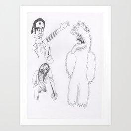 Mondo Brides Art Print