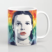 dorothy Mugs featuring Dorothy by Stephanie Keir