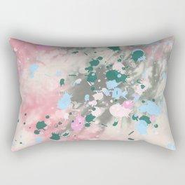 Tie Dye Splatter Rectangular Pillow