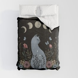 Cat on the Hill Comforters