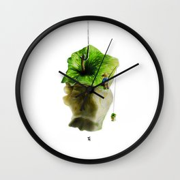 Apple fisher Wall Clock