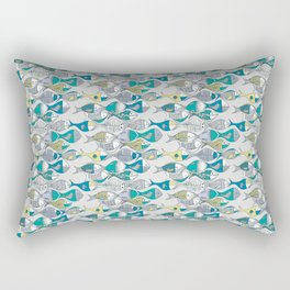 go fishing then! Rectangular Pillow
