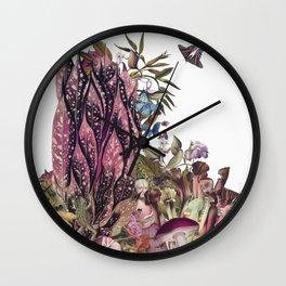 Magic Garden III Wall Clock