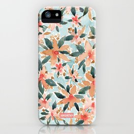 LAHAINA DANCE Tropical Floral iPhone Case