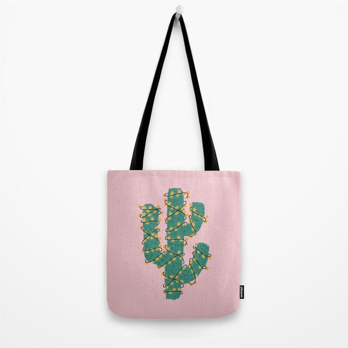 Cactus Lights Tote Bag