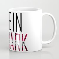 denmark Mugs featuring Made In Denmark by VirgoSpice