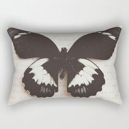 Papilio Aegus Butterfly Rectangular Pillow