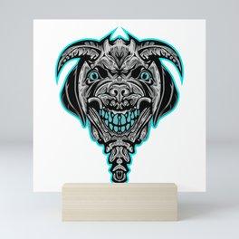 Devil Dog Mini Art Print