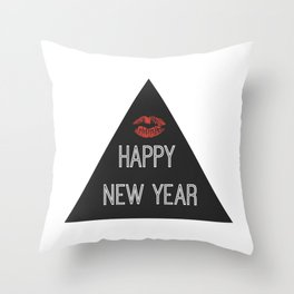 Happy New Year!! Holidaze Throw Pillow