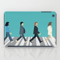 downton abbey iPad Cases featuring The tiny Abbey Road by Victor Trovo Afonso