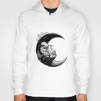 rockabilly Hoodies featuring Rockabilly moon by Kabay