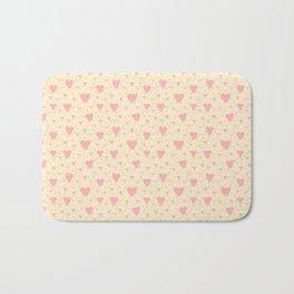 Heart Pattern Bath Mat