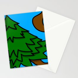 Tree-pping Balls | Veronica Nagorny Stationery Cards