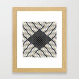 Set of 3 striped Framed Art Print