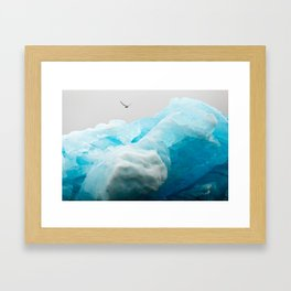 Iceburg Framed Art Print