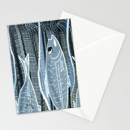 Fish Food Stationery Cards