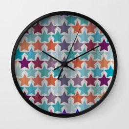 Starry Pattern Wall Clock