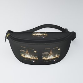 Eiffel Tower at Night Fanny Pack