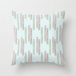 Jewel Bracelet Throw Pillow