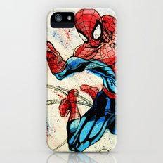 Web-Slinger Spider-Man Slim Case iPhone SE