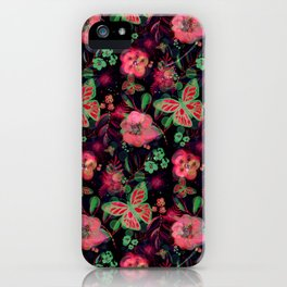 Autumnbutterfly iPhone Case