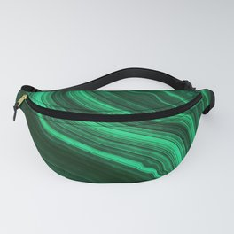 Malachite Texture 08 Fanny Pack