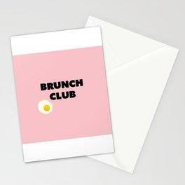brunch club Stationery Cards
