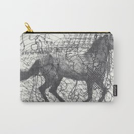 Horse Supercluster Carry-All Pouch