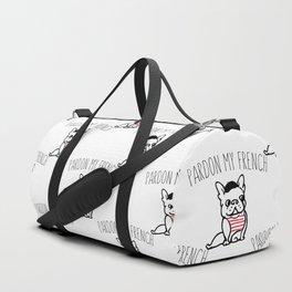 Pardon My French Duffle Bag