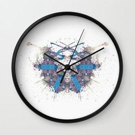 Inkdala XXXIV - Psychology Art Wall Clock